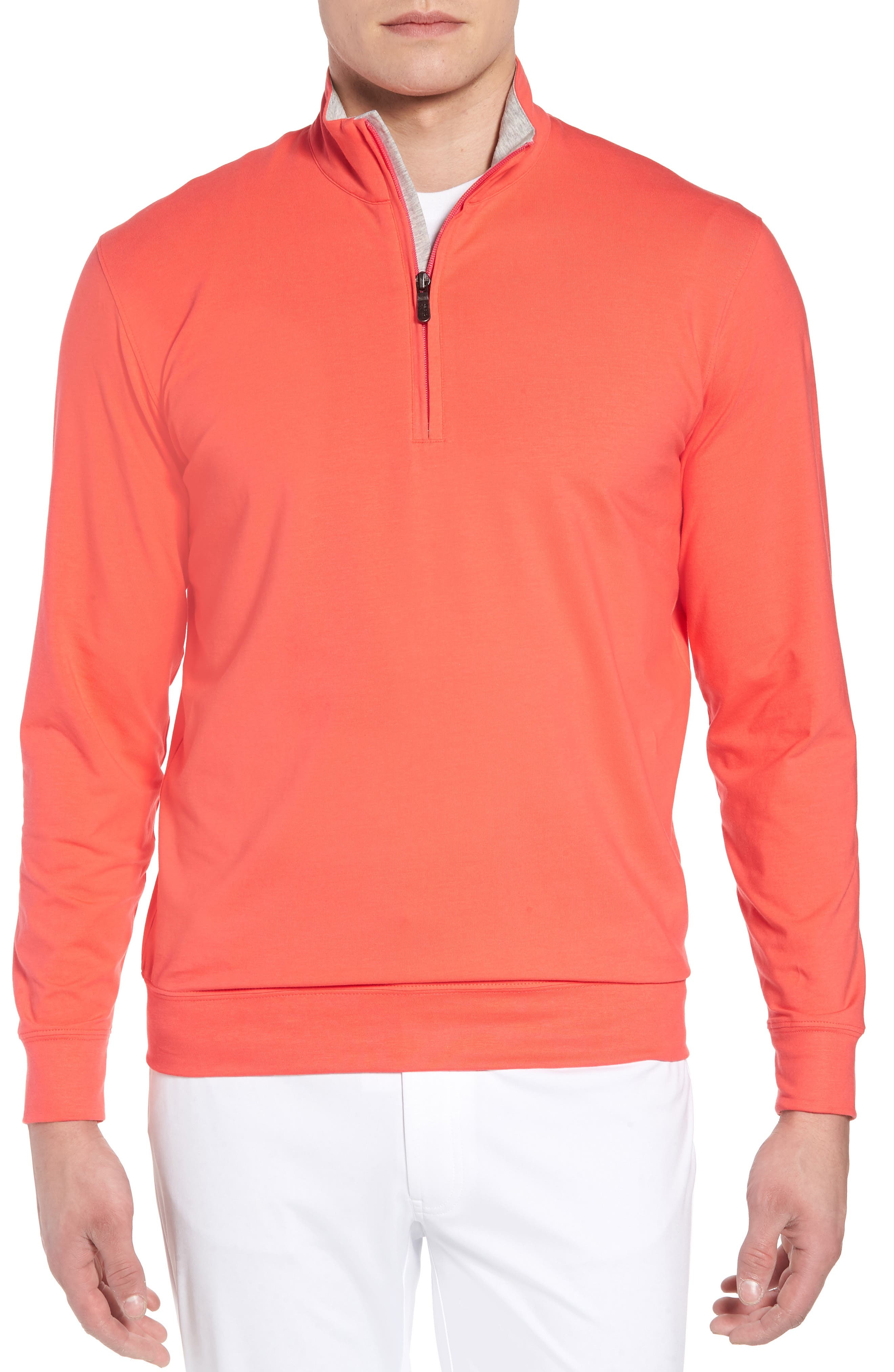 ,                             PTO Liquid Stretch Quarter Zip Pullover,                             Main thumbnail 25, color,                             673