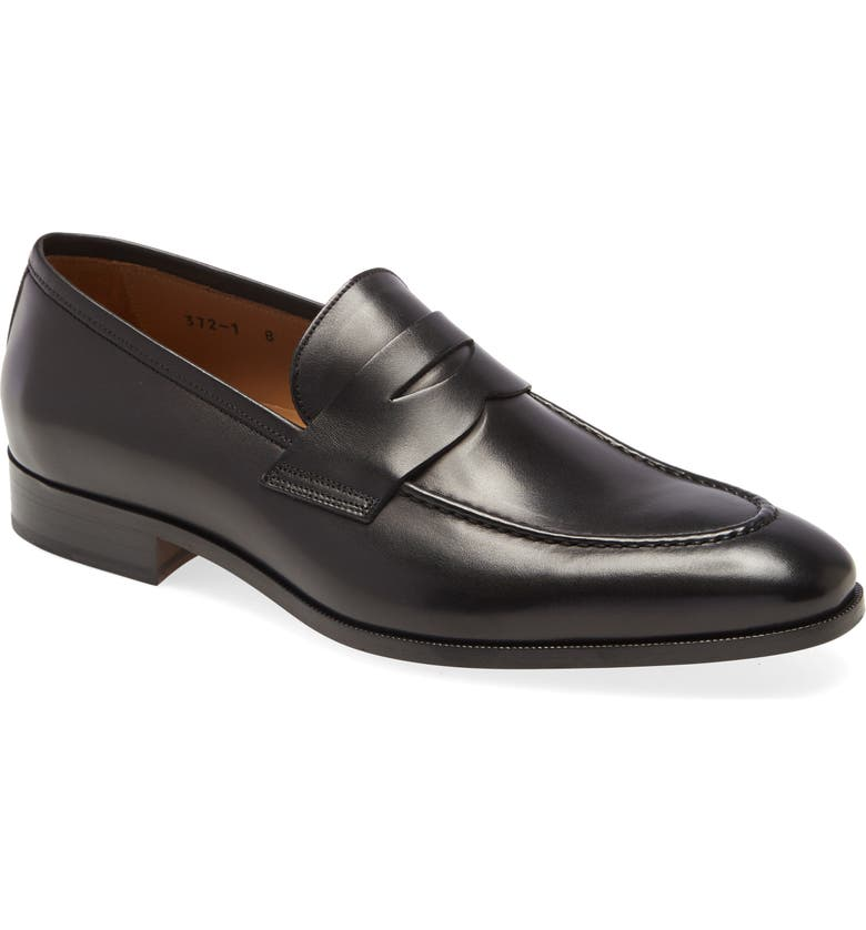 TO BOOT NEW YORK Tesoro Penny Loafer, Main, color, BLACK