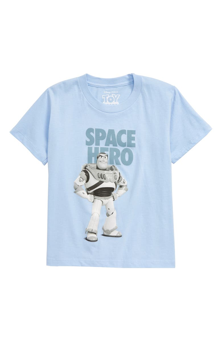 JEM Toy Story Space Hero Graphic T-Shirt, Main, color, LIGHT BLUE