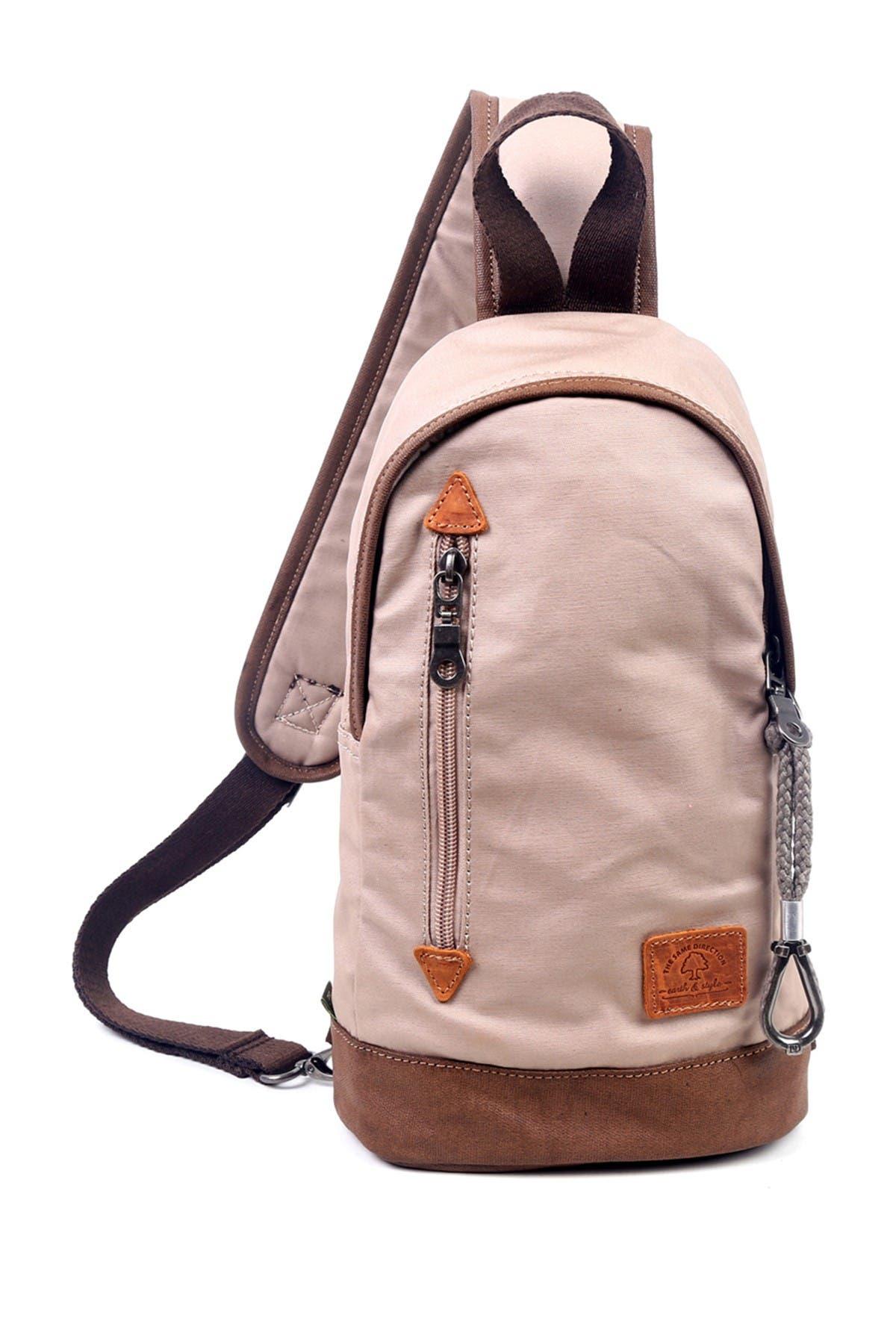 Image of TSD Light Coated Canvas Sling Bag