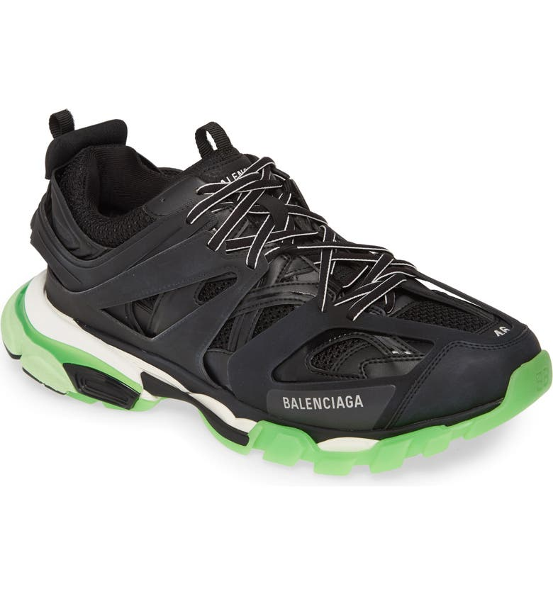 BALENCIAGA Track Glow in the Dark Sneaker, Main, color, NOIR MULTI