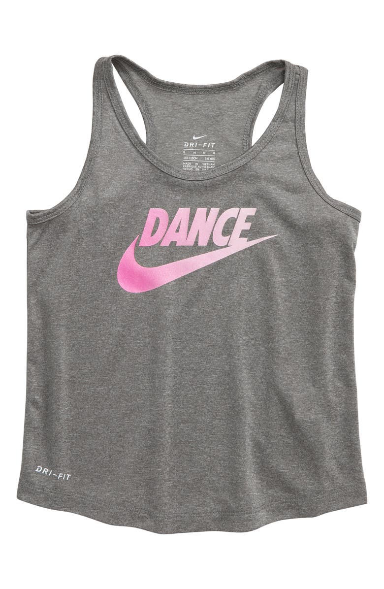 NIKE Dry Dance Graphic Tank, Main, color, 088