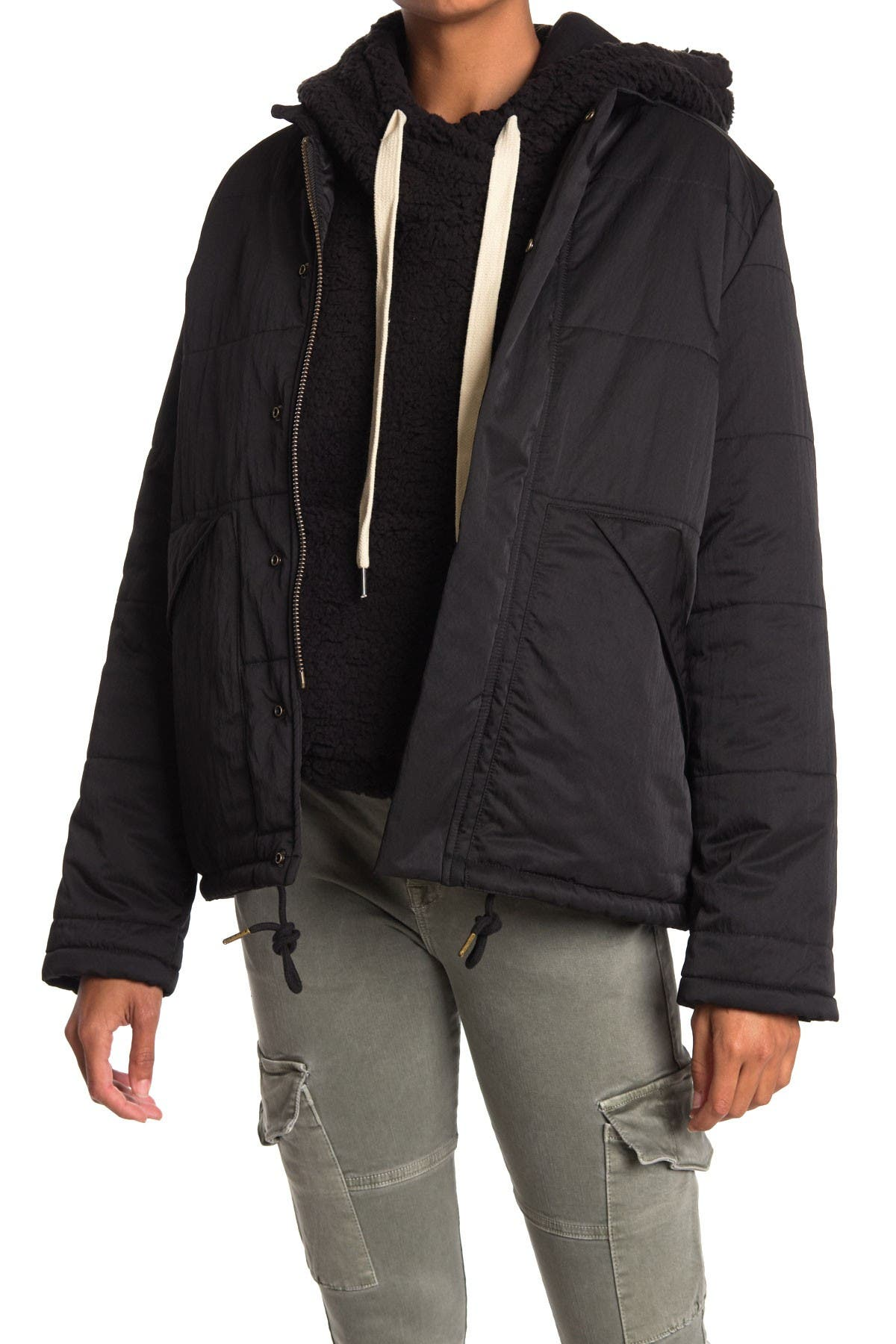 Image of NSF CLOTHING Ace Patch Pocket Puffer Jacket