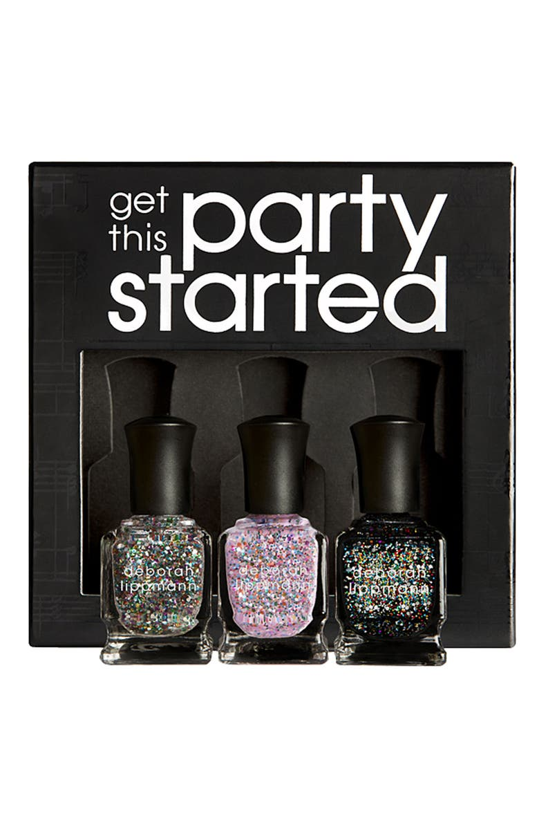 DEBORAH LIPPMANN 'Get This Party Started' Set, Main, color, 000