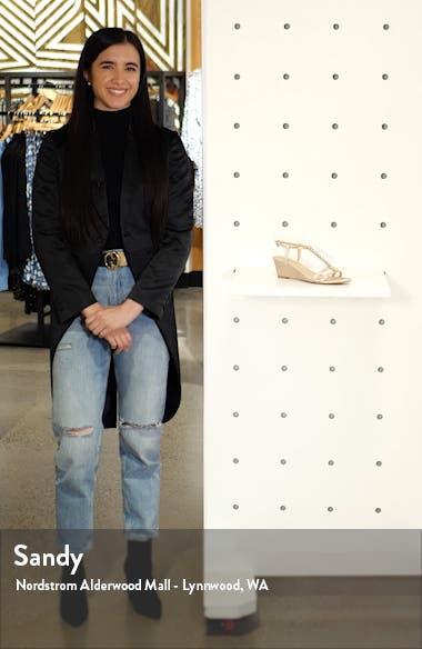 Farah Crystal Embellished Wedge Sandal, sales video thumbnail