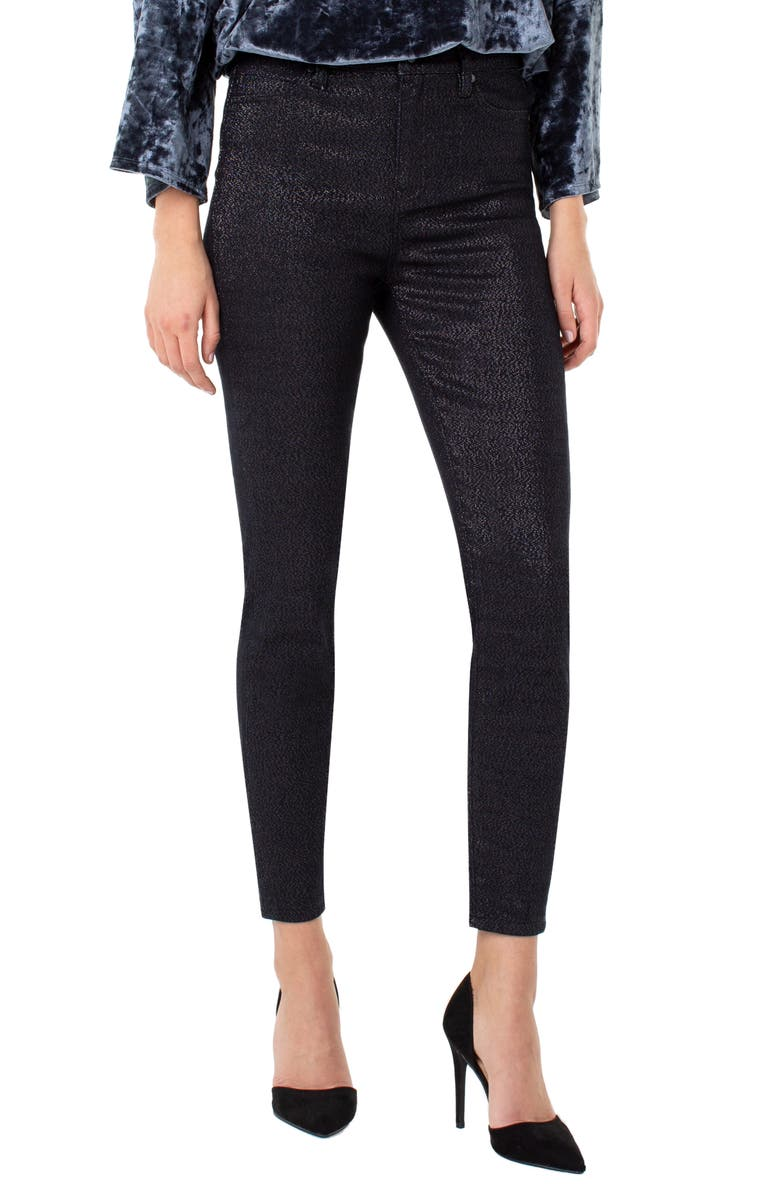LIVERPOOL Abby High Waist Ankle Skinny Pants, Main, color, LYON