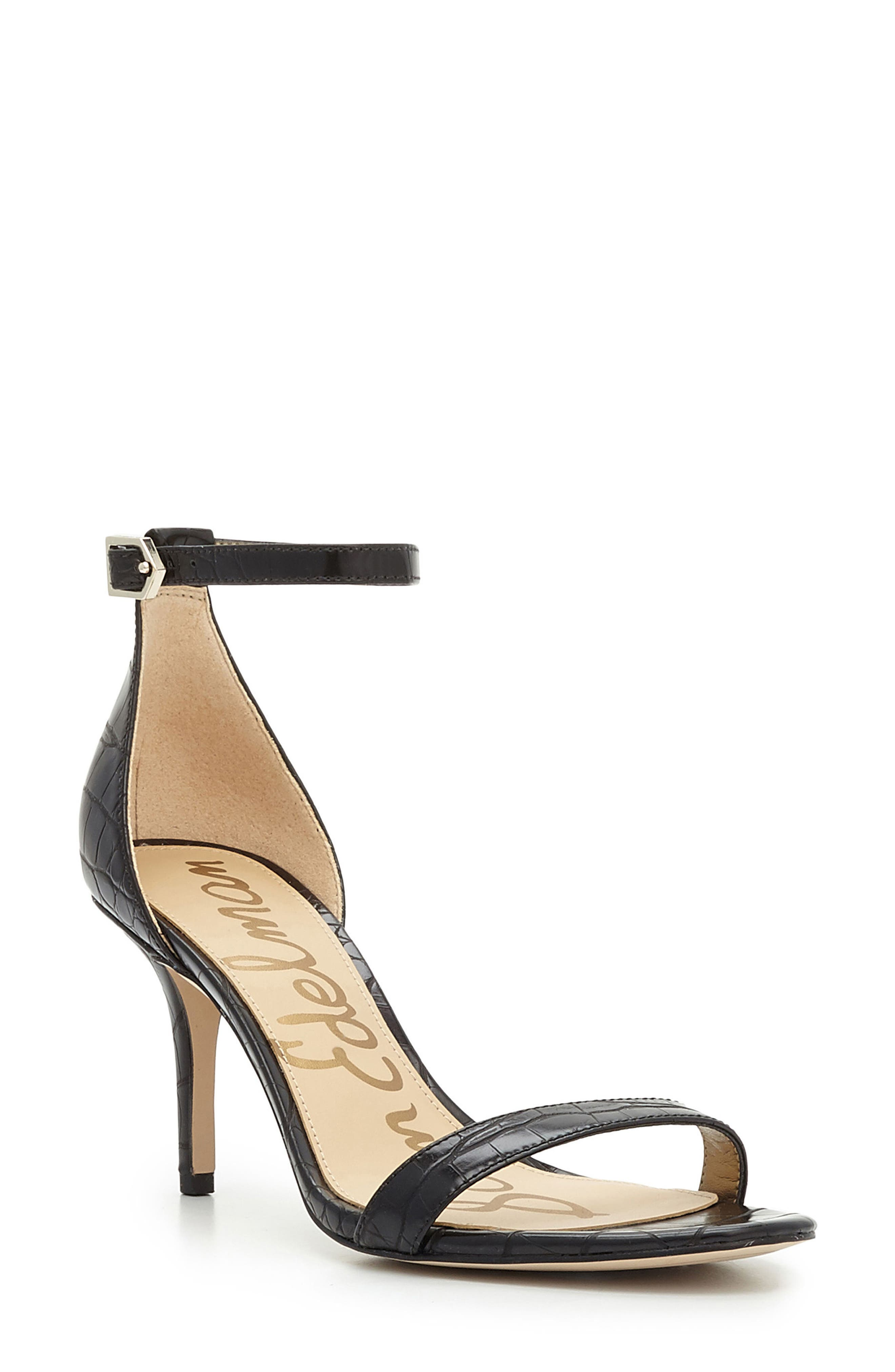 ,                             'Patti' Ankle Strap Sandal,                             Main thumbnail 13, color,                             007
