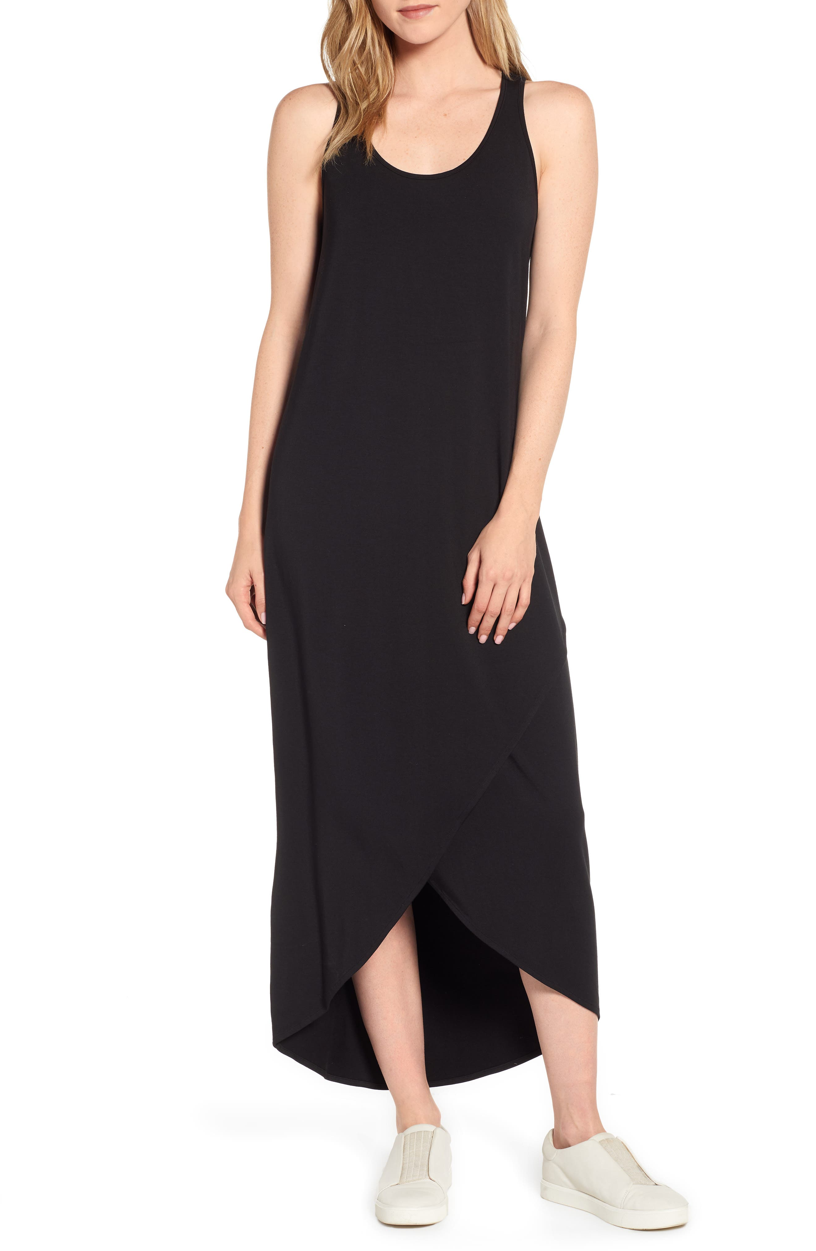 Nic+Zoe Ease Maxi Dress, Black