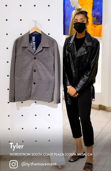Jim Flex Hybrid Jersey Blazer Jacket, sales video thumbnail