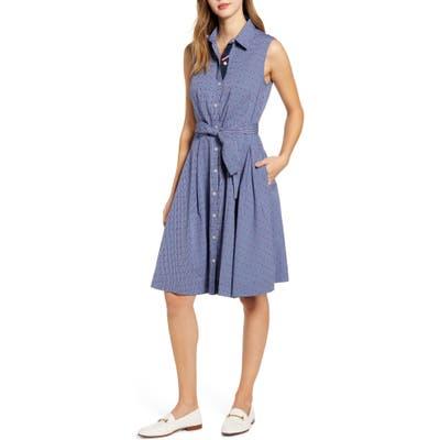 Tommy Hilfiger Fit & Flare Shirtdress, Blue