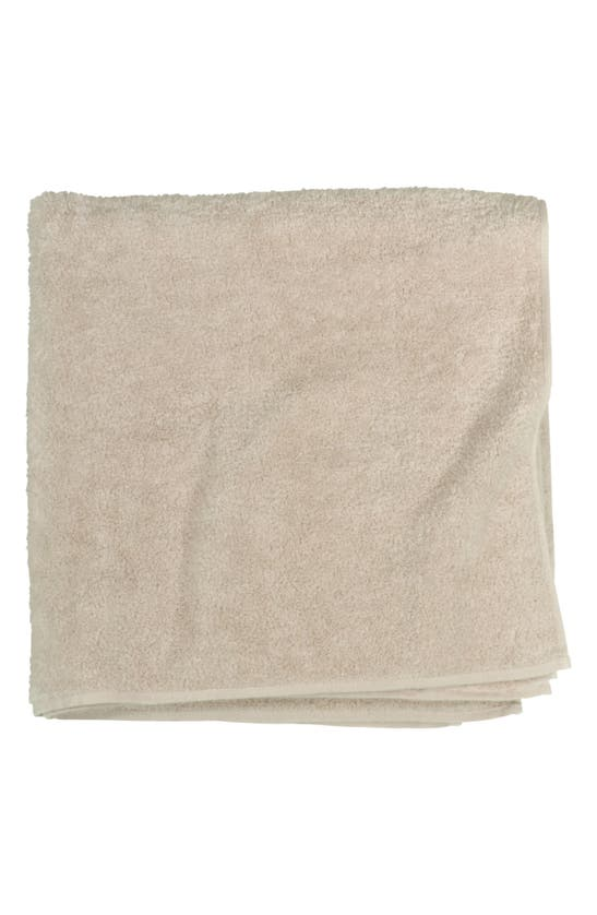 Uchino Zero Twist Bath Towel In Beige