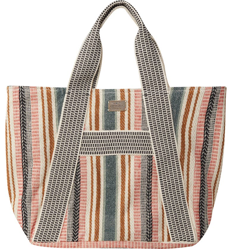 O'NEILL Joney Jacquard Tote, Main, color, MULTI COLORED