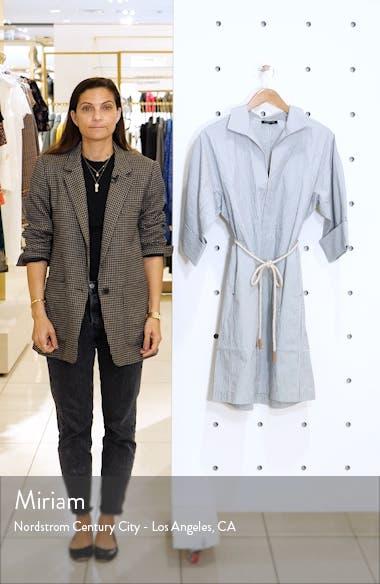 Nicole Belted Midi Shirtdress, sales video thumbnail