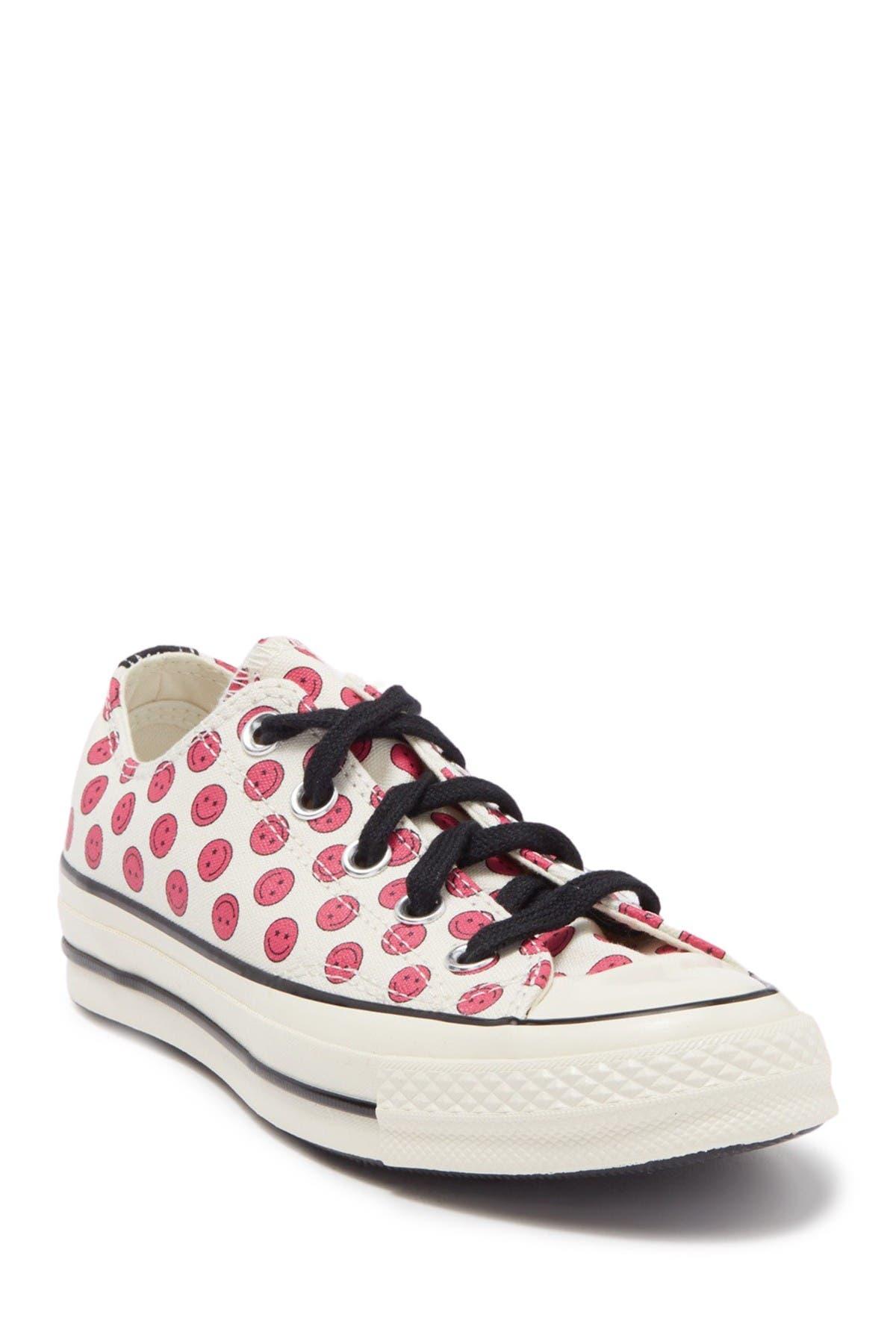 Image of Converse Chuck 70 Oxford Smiley Sneaker