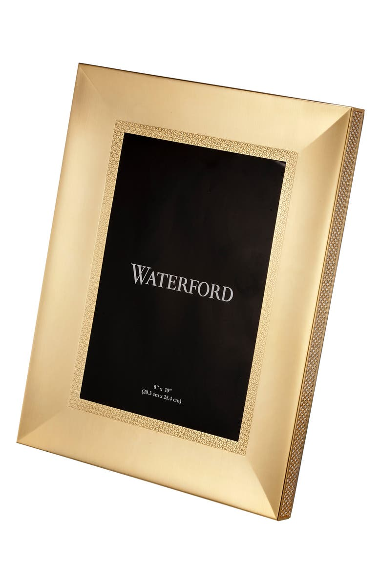 WATERFORD Lismore Diamond Picture Frame, Main, color, CRYSTAL