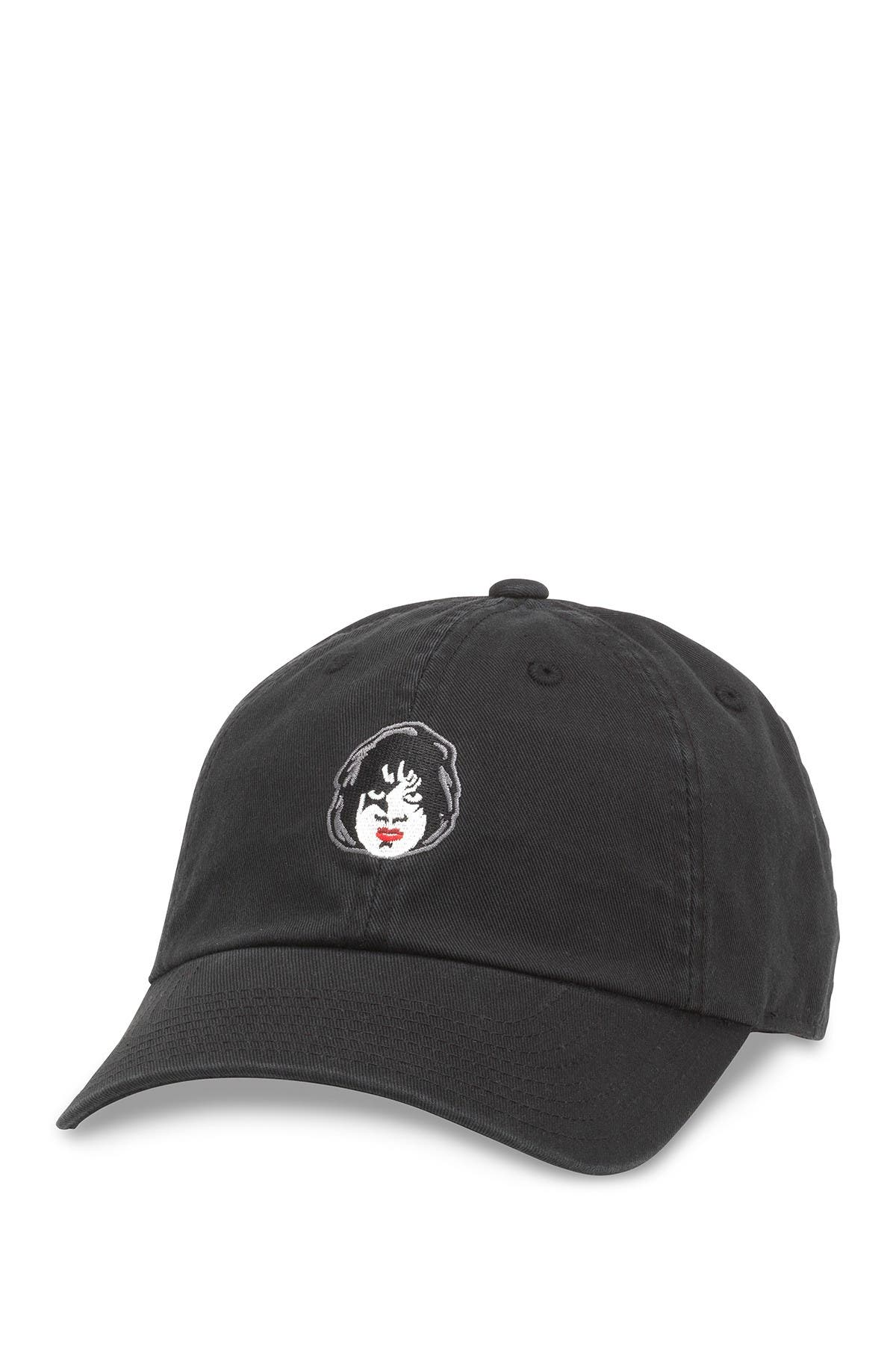 Image of American Needle Kiss The Starchild Paul Stanley Micro Embroidered Baseball Cap