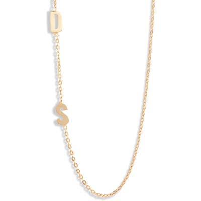 Argento Vivo Personalized Two Initial Necklace