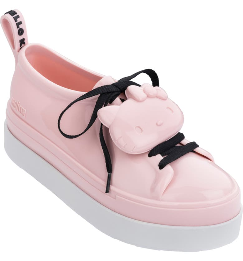 MELISSA Hello Kitty Sneaker, Main, color, PINK/ WHITE