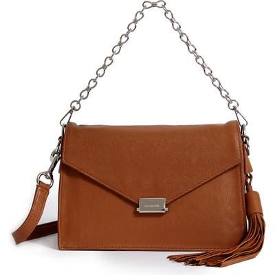 Allsaints Miki Leather Shoulder Bag - Beige