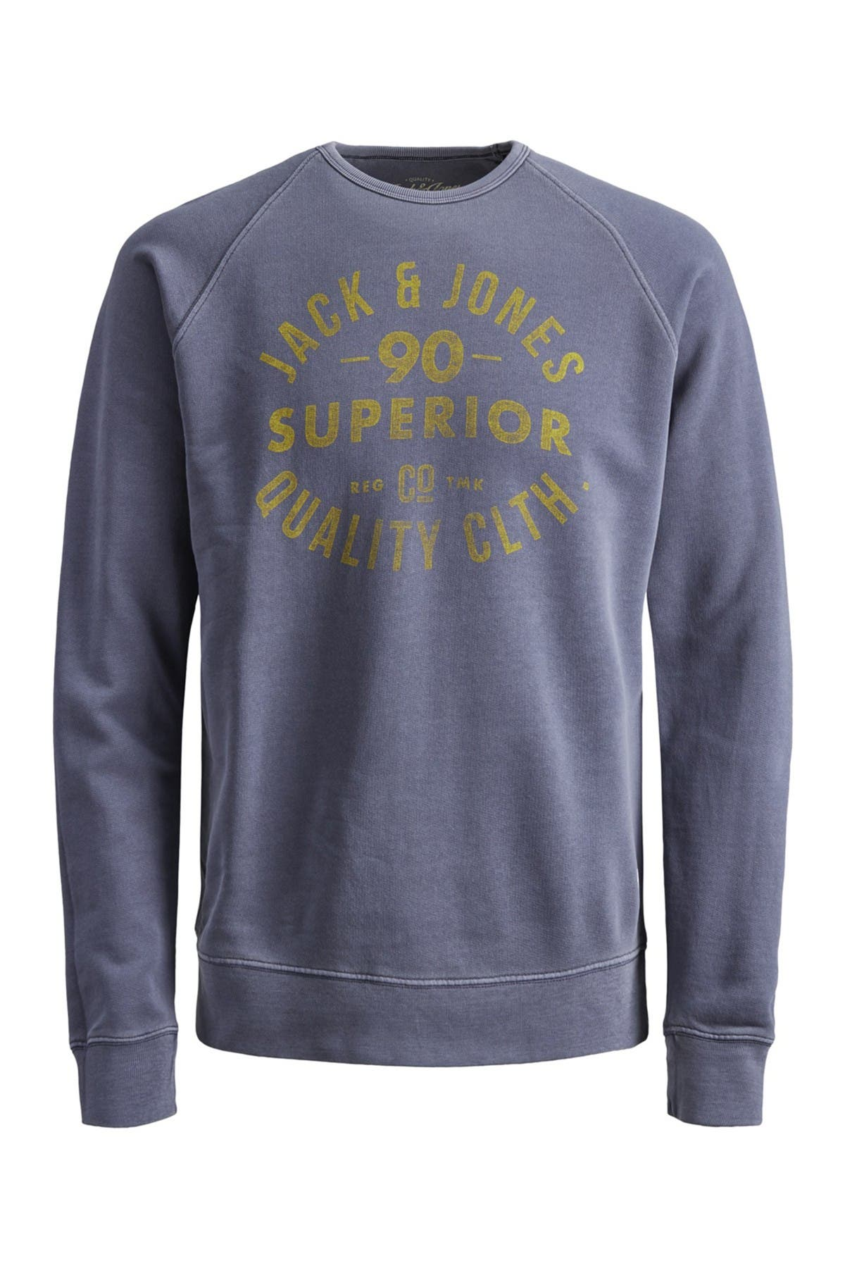 Image of JACK & JONES Vintage Logo Raglan Sweatshirt