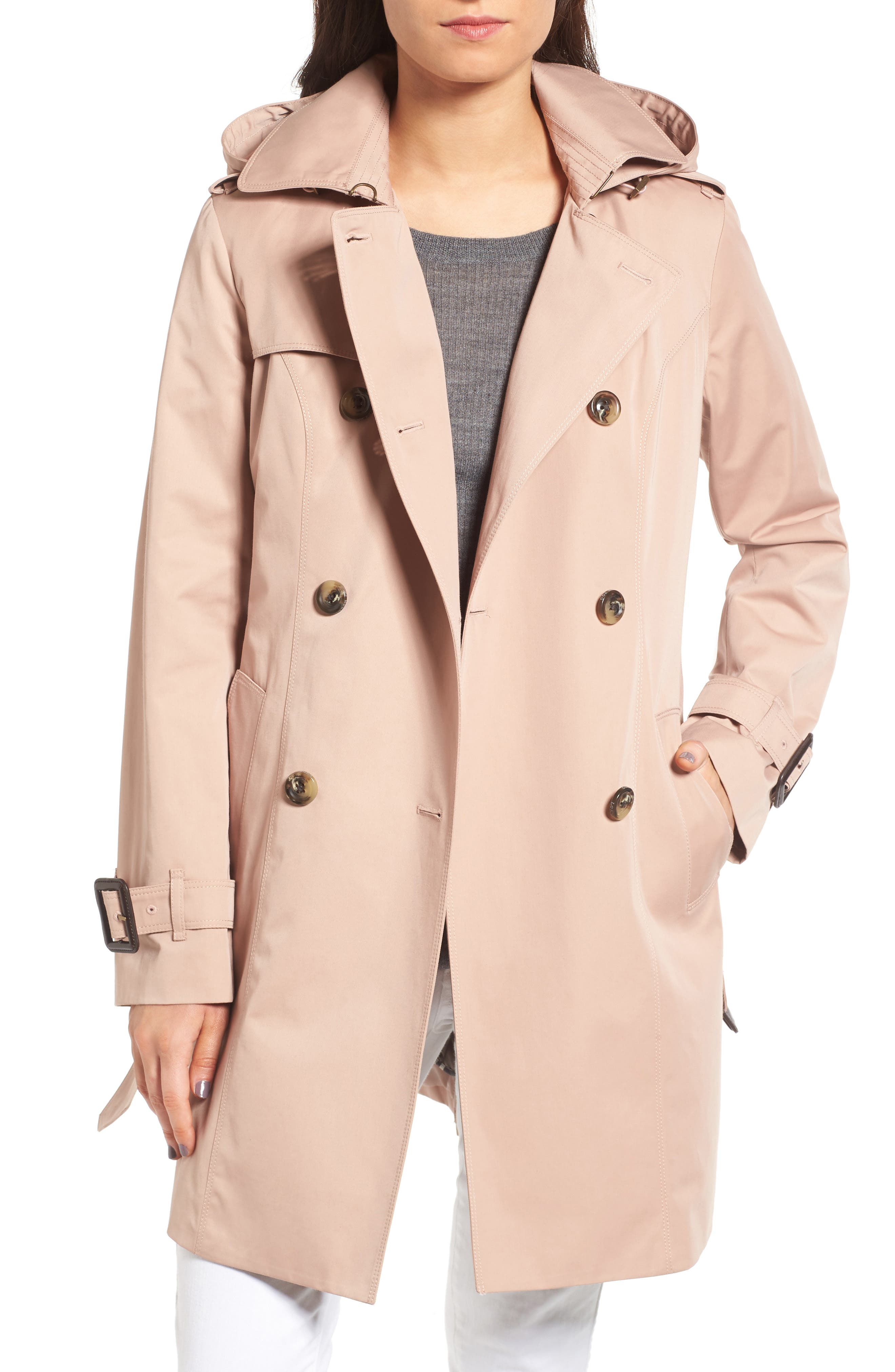 ,                             Heritage Trench Coat with Detachable Liner,                             Main thumbnail 11, color,                             277