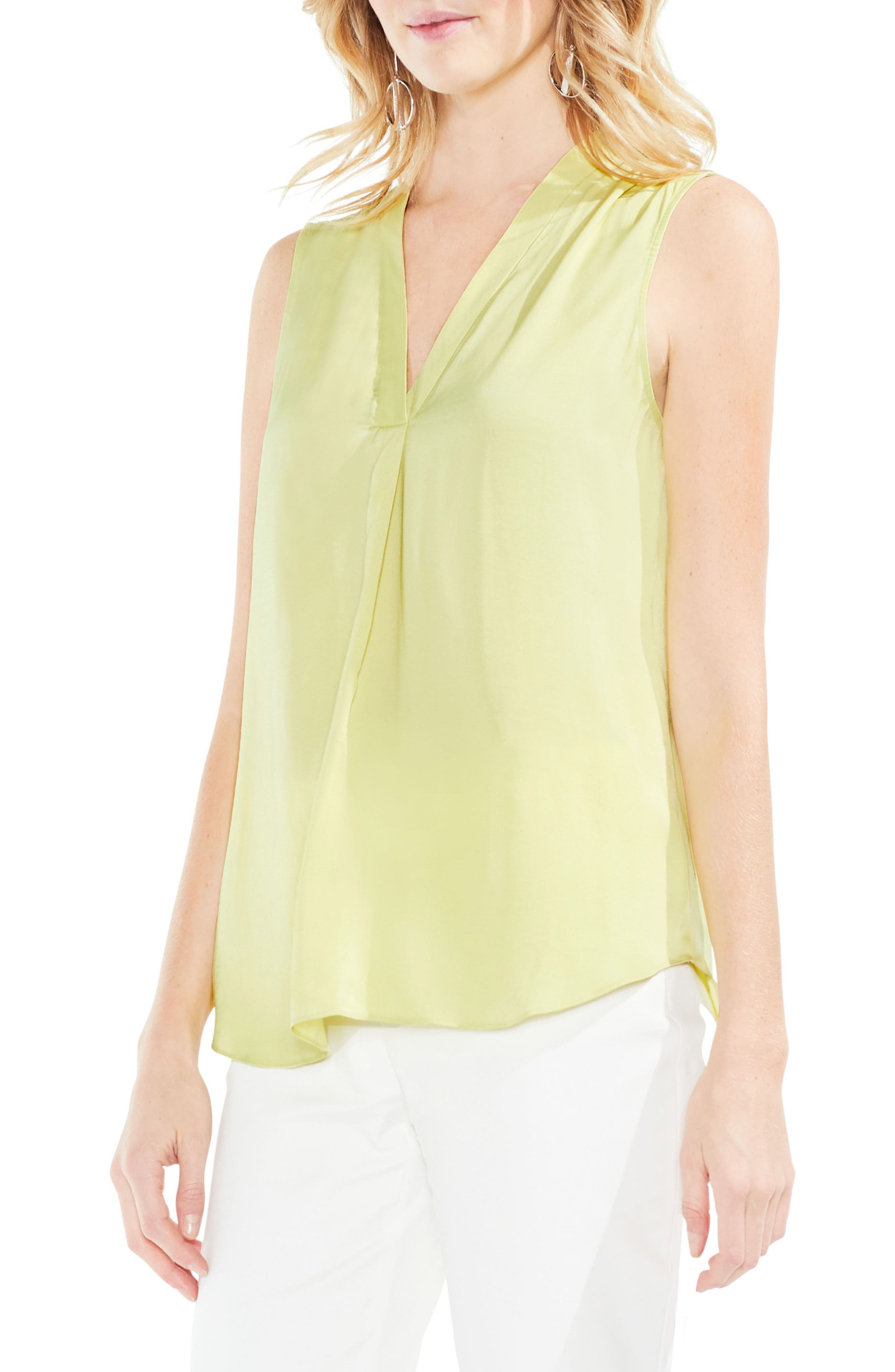 ,                             Rumpled Satin Blouse,                             Main thumbnail 154, color,                             398