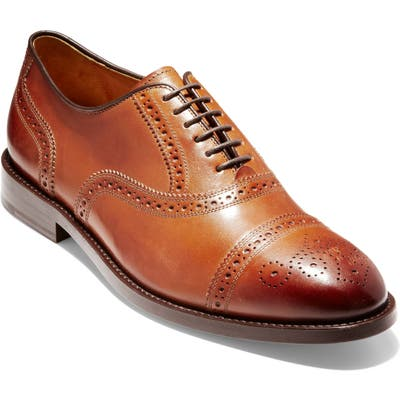 Cole Haan American Classics Kneeland Cap Toe Oxford - Brown