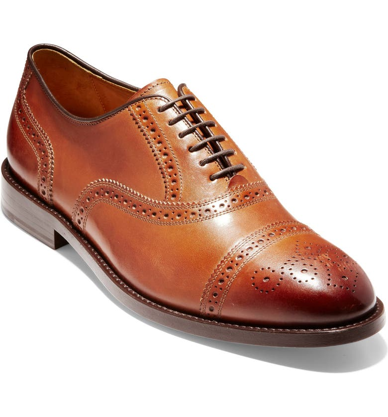 COLE HAAN American Classics Kneeland Cap Toe Oxford, Main, color, 200