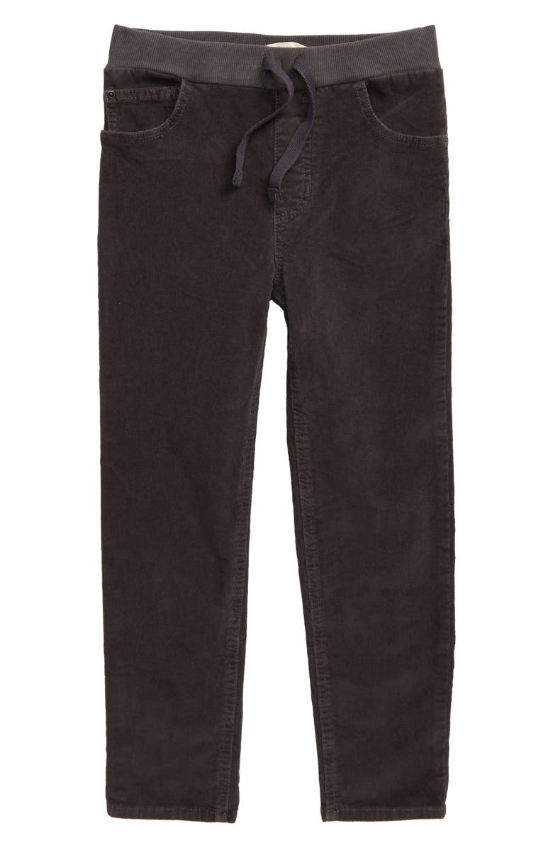 TUCKER + TATE Corduroy Pants, Main, color, GREY MAGNET