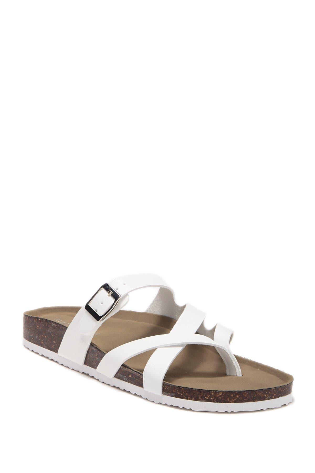 Image of Madden Girl Bartlet Slide Thong Sandal