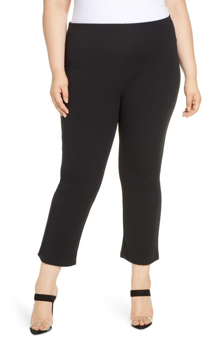 LEITH Pull-On Knit Pants, Main, color, 001