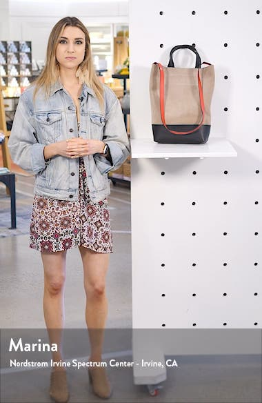 Walker Convertible Suede & Leather Tote, sales video thumbnail