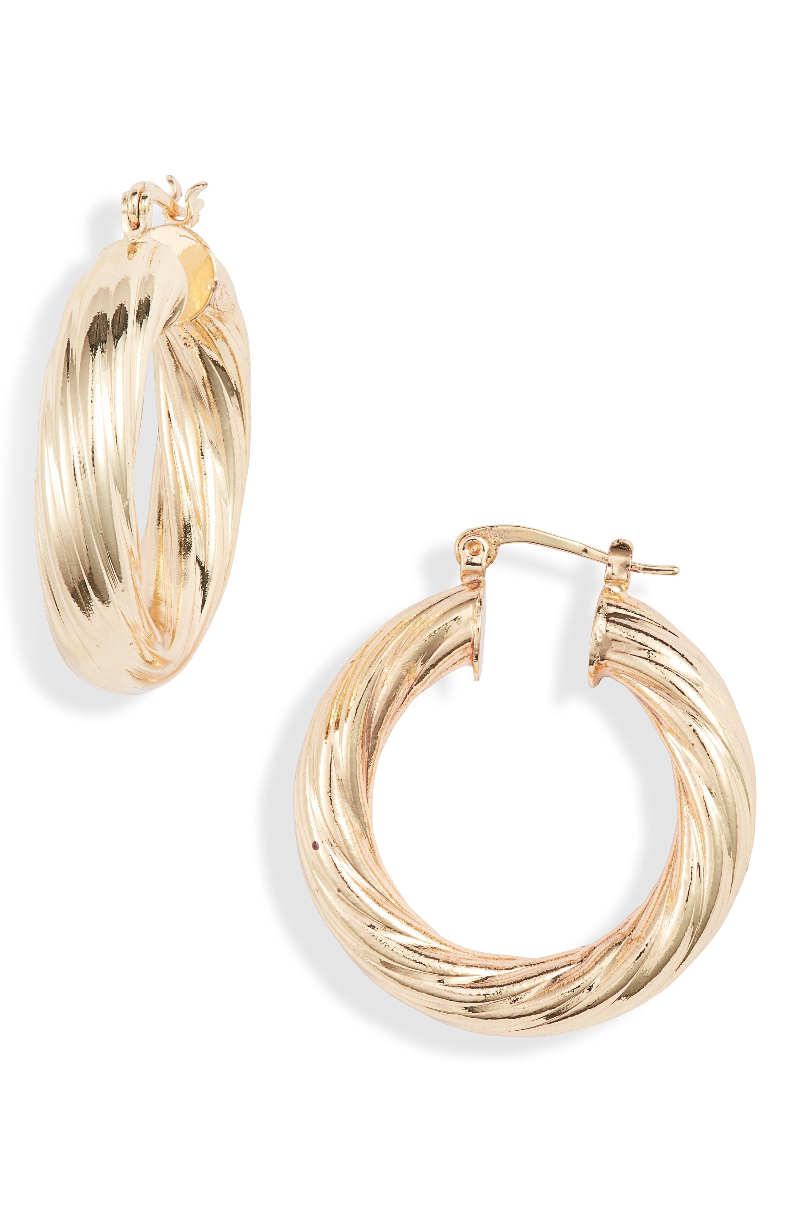 Milan Hoop Earrings