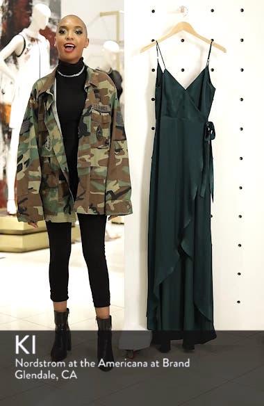 Mariah Wrap Maxi Dress, sales video thumbnail