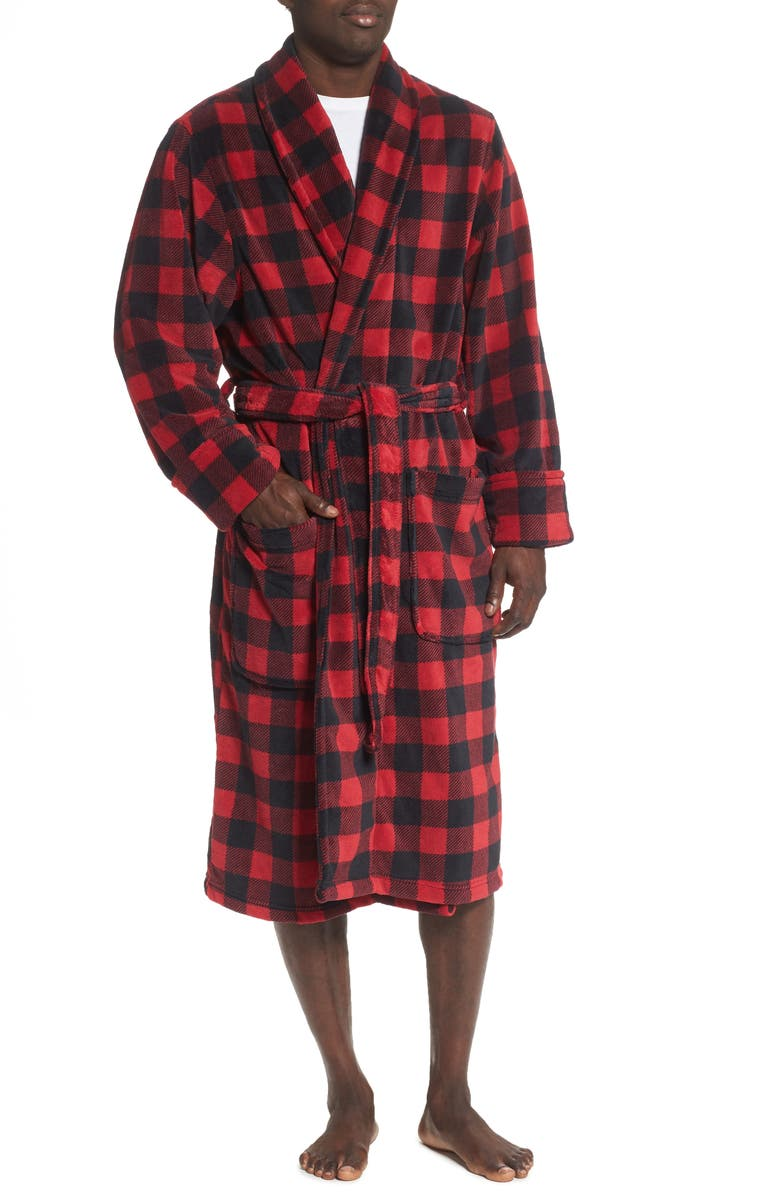 NORDSTROM MEN'S SHOP Fleece Robe, Main, color, 600