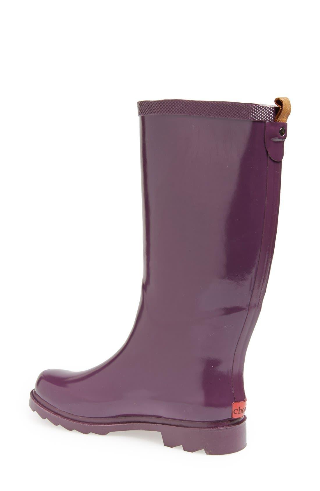 ,                             'Top Solid' Rain Boot,                             Alternate thumbnail 106, color,                             520