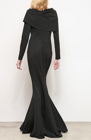 Tali Long Sleeve Gown, video thumbnail