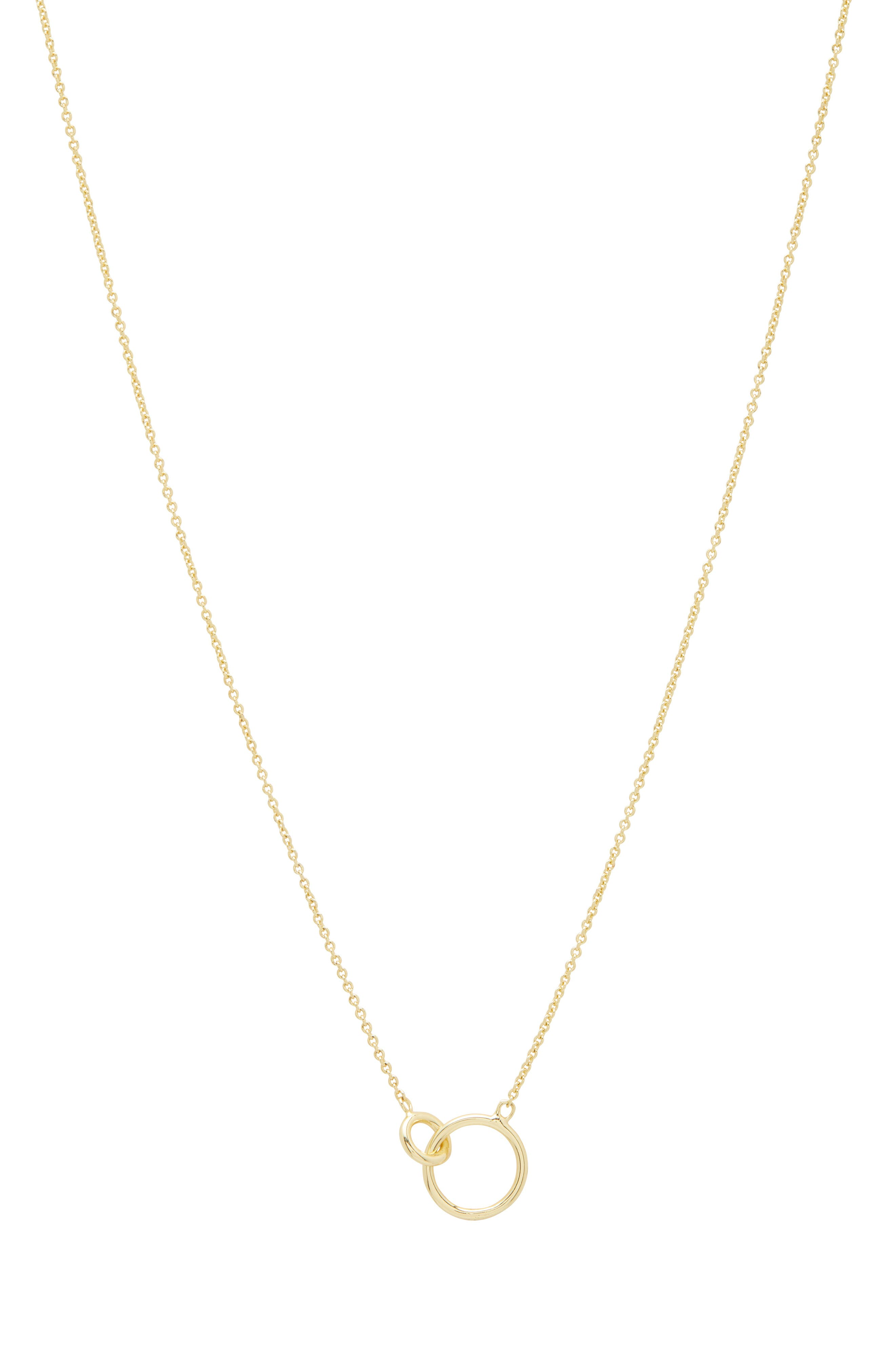 Wilshire Connected Loop Necklace