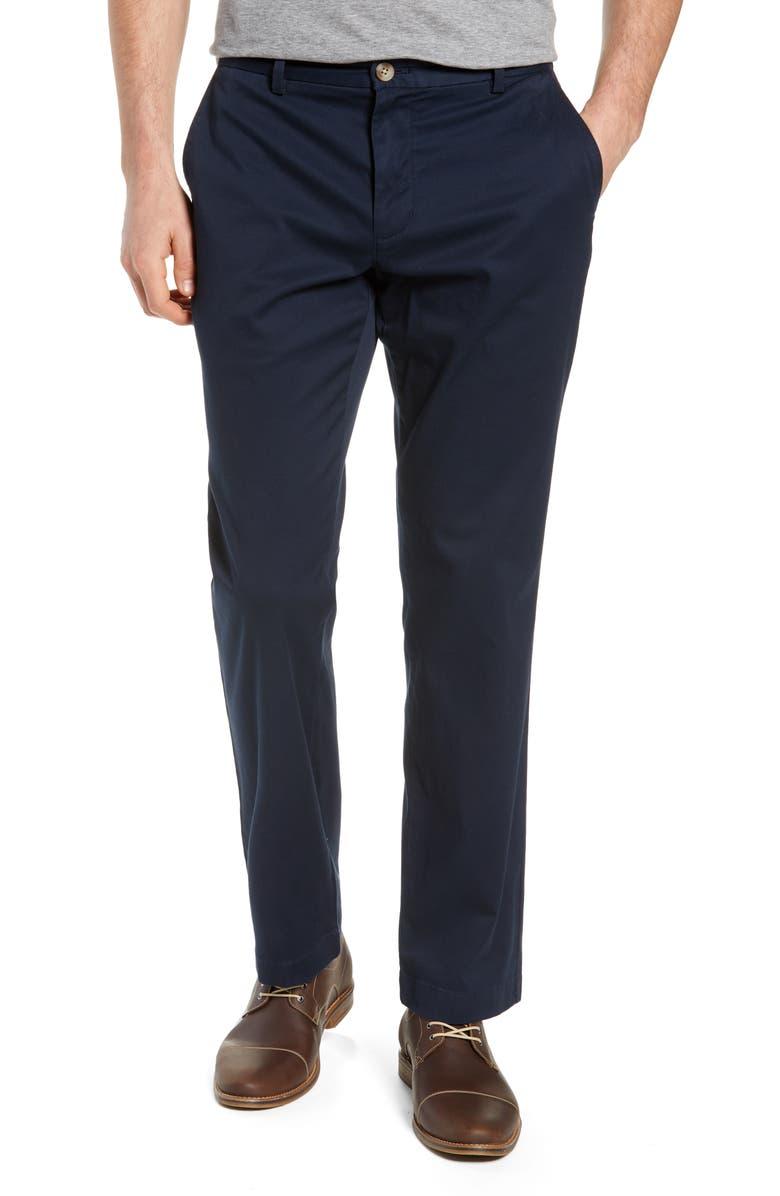 VINEYARD VINES Breaker Straight Leg Pants, Main, color, VINEYARD NAVY