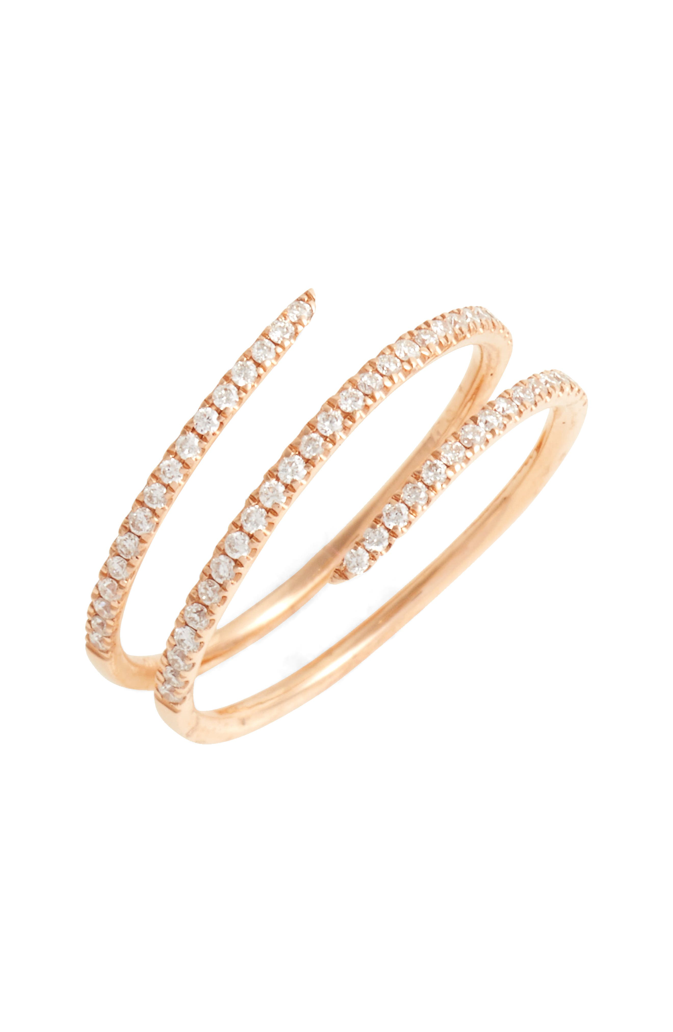 Diamond Coil Ring (Nordstrom Exclusive)