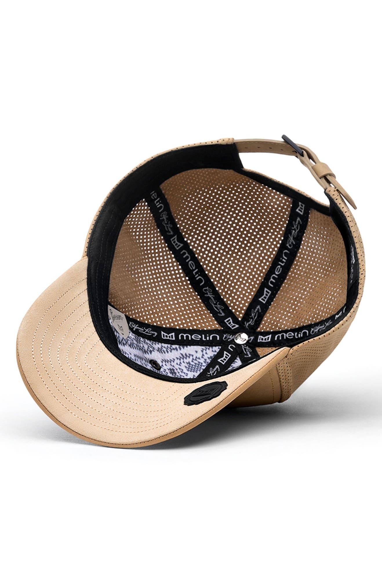 huge selection of e0926 09c32 Melin Voyage Elite Leather Ball Cap   Nordstrom