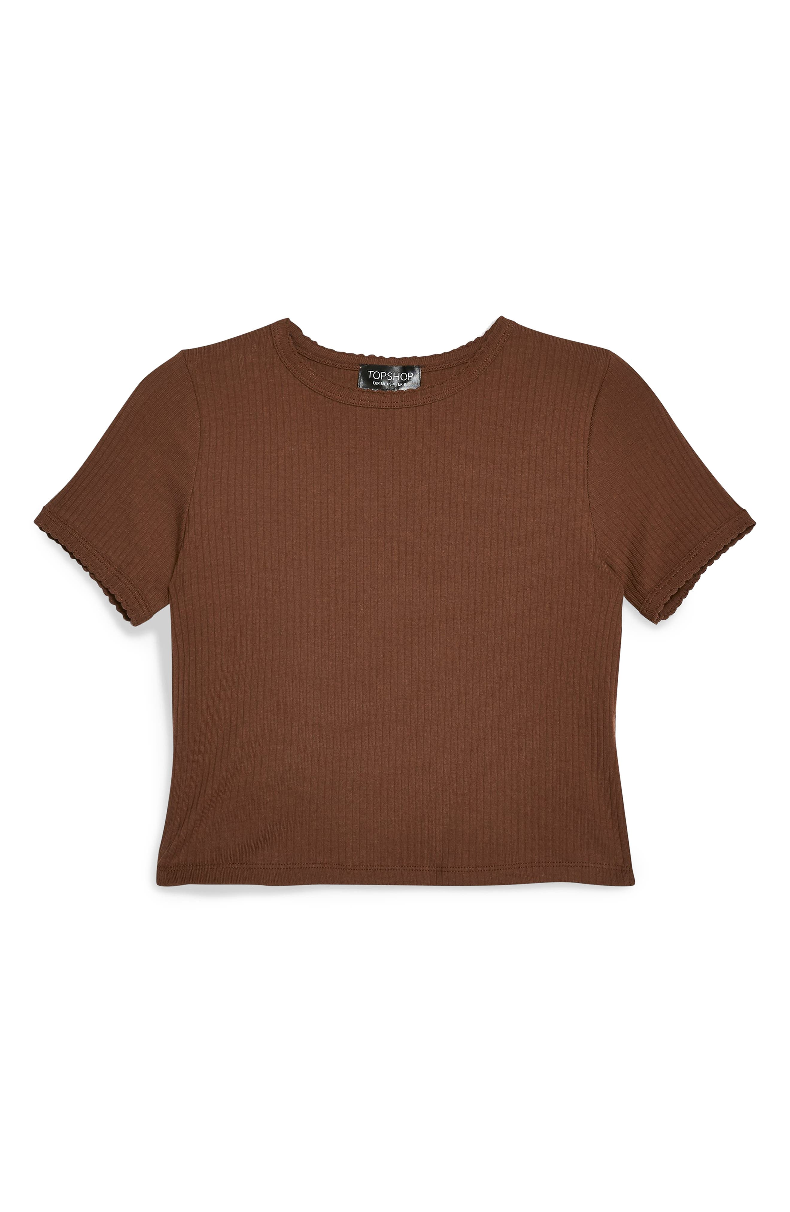 ,                             Scallop Edge Tee,                             Alternate thumbnail 3, color,                             200