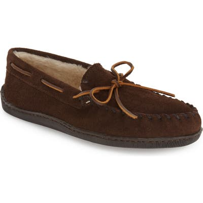 Minnetonka Suede Moccasin, Brown