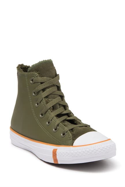 Image of Converse Chuck Taylor All Star High-Top Leather Sneaker