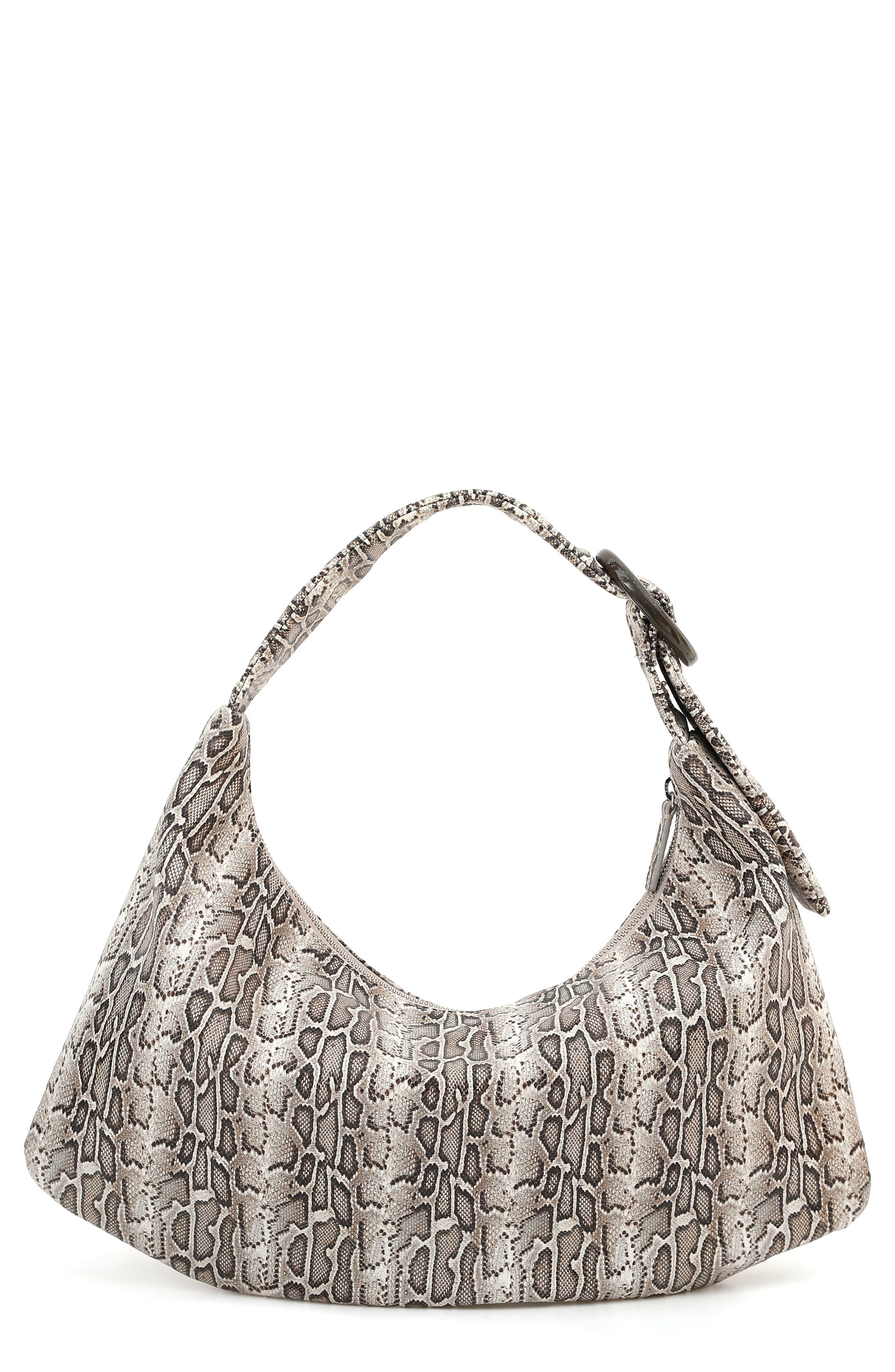Gu-De Medium Lisa Leather Shoulder Bag