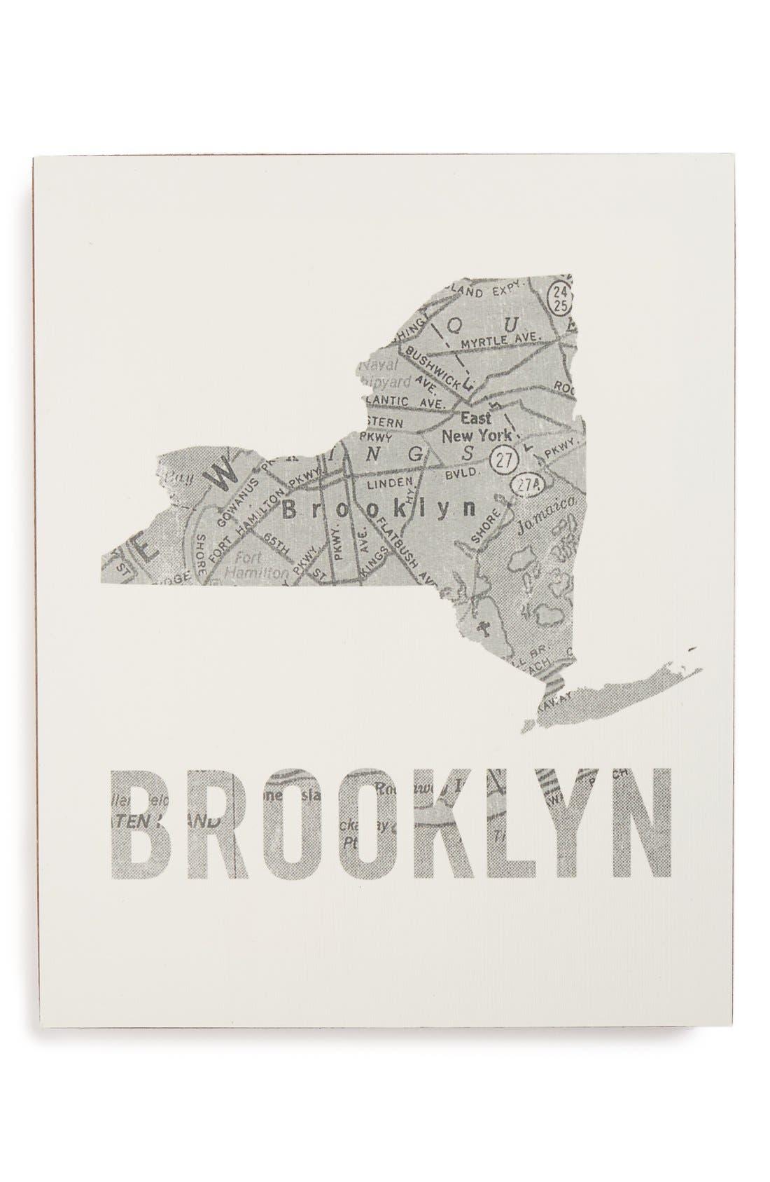 ,                             City Map Wall Art,                             Main thumbnail 7, color,                             026