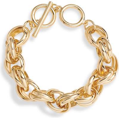 Halogen Double Link Bracelet