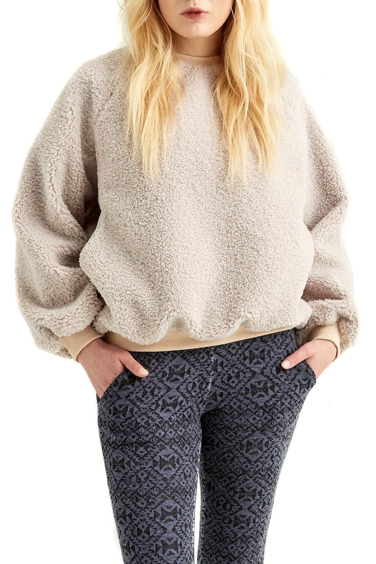 Image of Boundless North Faux Shearling Pullover