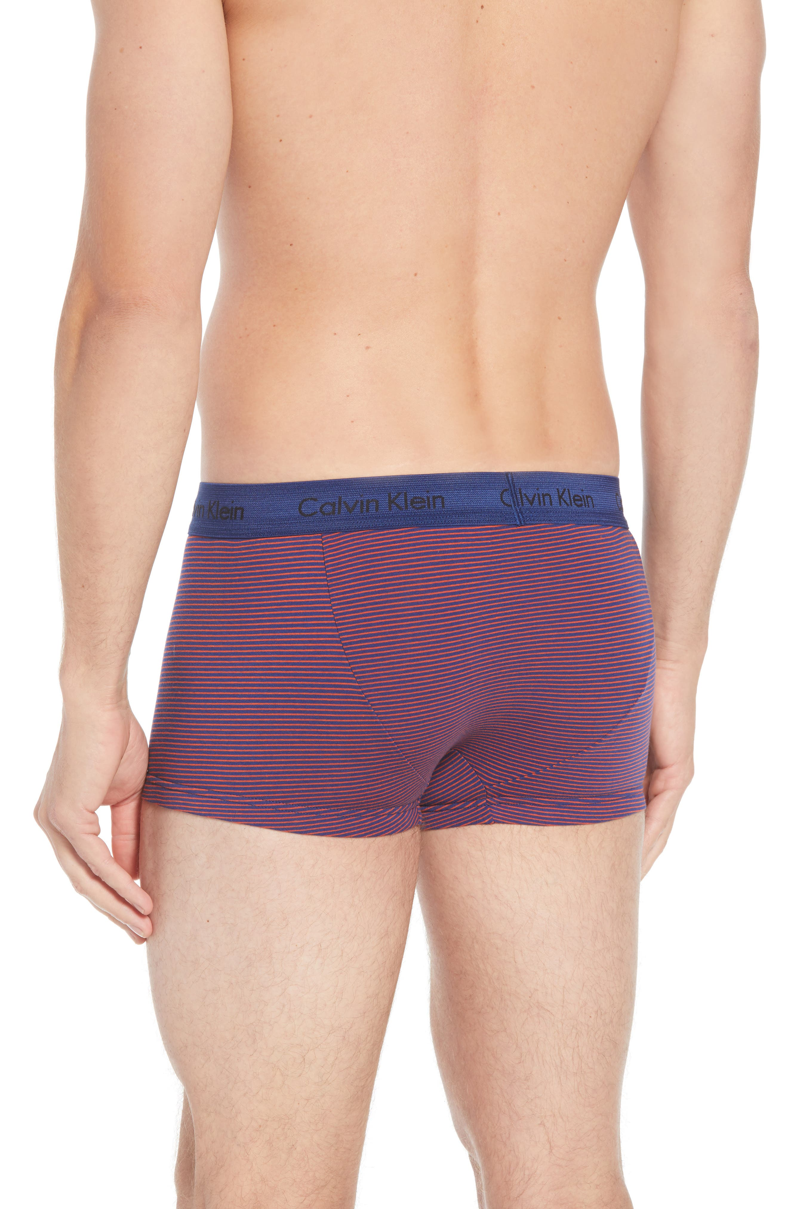 ,                             3-Pack Stretch Cotton Low Rise Trunks,                             Alternate thumbnail 147, color,                             888
