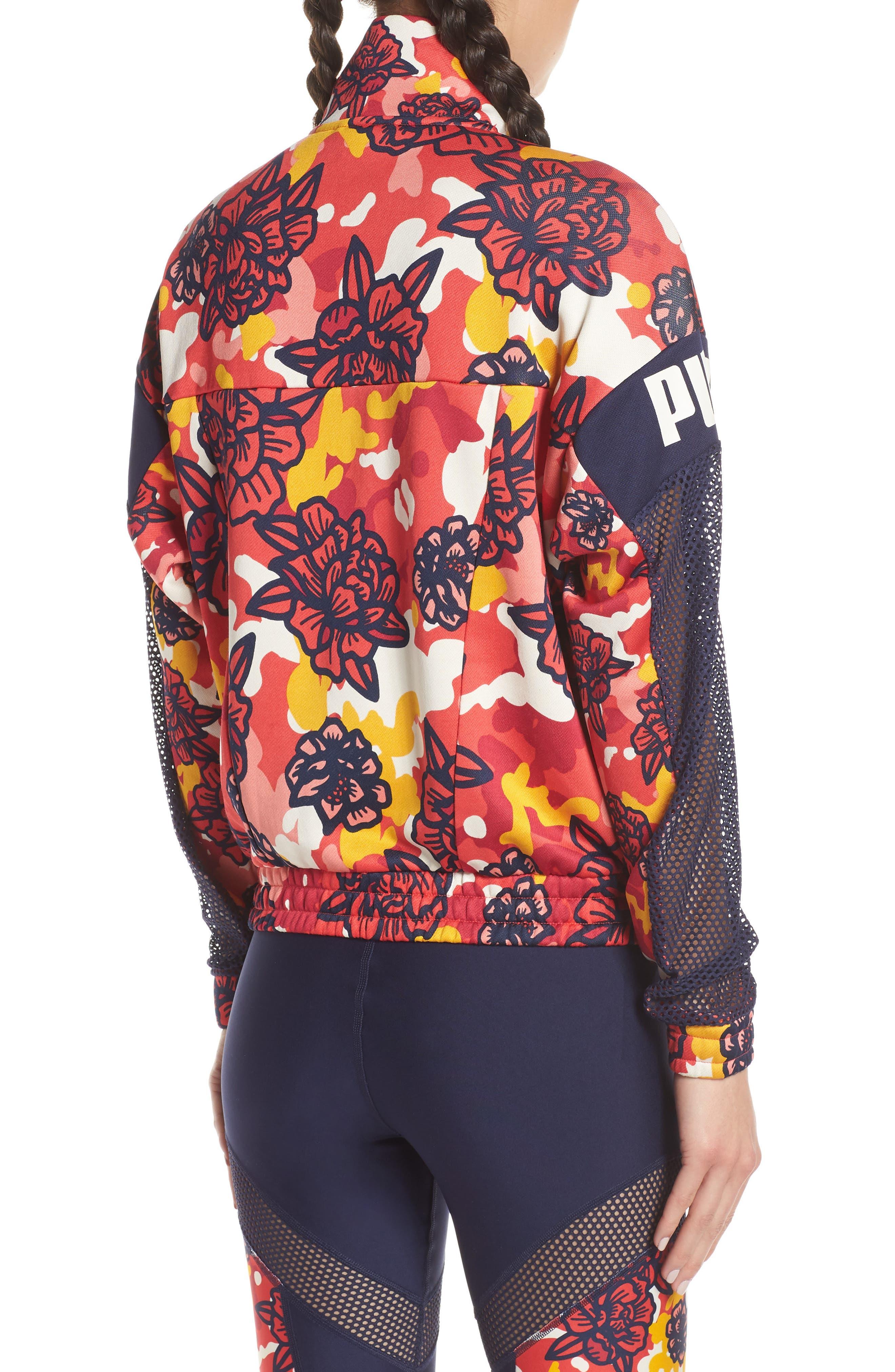 ,                             Flourish XTG Jacket,                             Alternate thumbnail 2, color,                             HIBISCUS MULTI